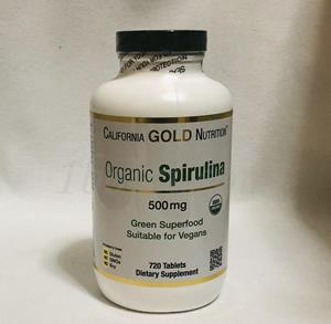 California Gold Nutrition オーガニックスピルリナ