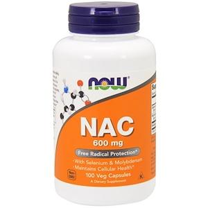 Now Foods N-アセチルシステイン(NAC)600mg