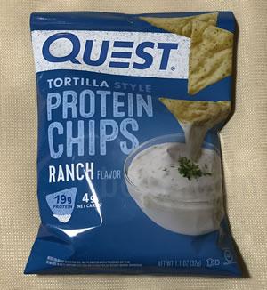 Quest Nutrition プロテインチップス ランチドレッシングのレビュー