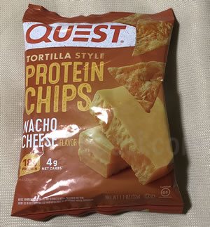 Quest Nutrition プロテインチップス ナチョーチーズ味のレビュー
