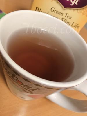 Yogi Tea 緑茶ブルーベリー スリムライフ効果