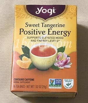 Yogi Tea ポジティブなエネルギー(Positive Energy)スイートタンジェリン