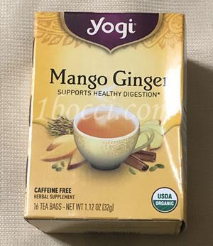 Yogi Tea マンゴージンジャー カフェインフリー
