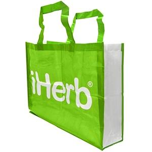 iHerb Goods iHerbショッピングトートバッグ特大サイズ