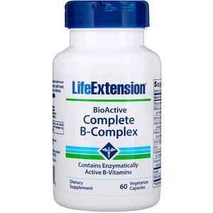 Life Extension バイオアクティブコンプリート Bコンプレックス 60錠