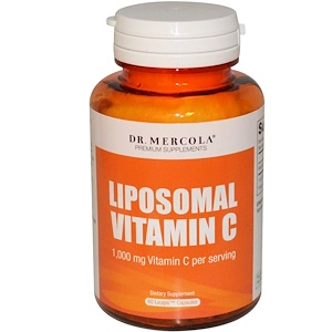 Dr.Mercola リポソーム・ビタミンC 1,000mg 60カプセル