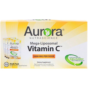 Aurora Nutrascience メガリポソームビタミンC 3000mg 32袋