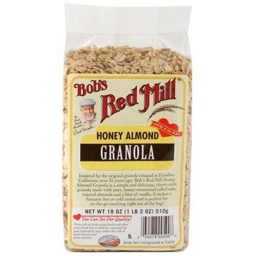 Bobs Red Mill, ハニーアーモンドグラノーラ, 18 oz (510 g)