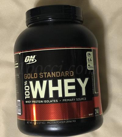 ゴールドスタンダード100%ホエイ ダブルリッチチョコレート味のレビューOptimum Nutrition(オプティマムニュートリション)