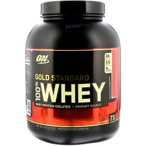 Optimum Nutrition(オプティマムニュートリション)ゴールドスタンダード 100%ホエイ おいしいイチゴ(デリシャスストロベリー味)