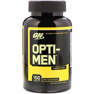 Optimum Nutrition, オプティ-メン, 150錠