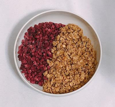 CGN(California Gold Nutrition) スーパーフード ザクロの種とグラノーラ・シリアル