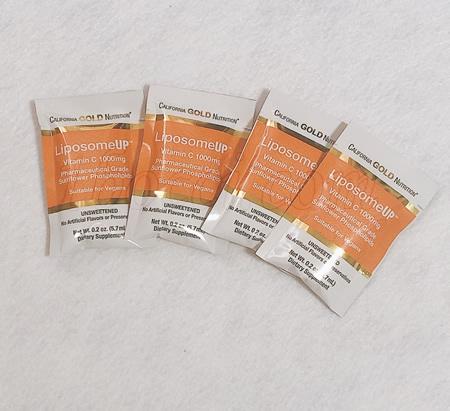 色:まずい?CGN LiposomeUP リポソームビタミンC 1,000mgのレビュー