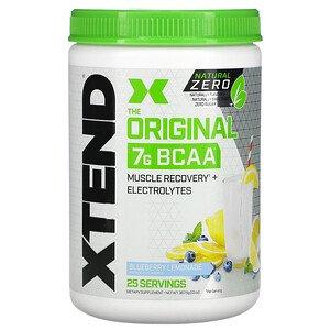 Xtend オリジナル7G BCAA ナチュラルゼロ ブルーベリーレモネード 367.5g(13オンス)