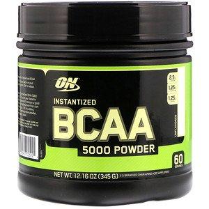Optimum Nutrition インタンタイズドBCAA 5000パウダー味なし345g