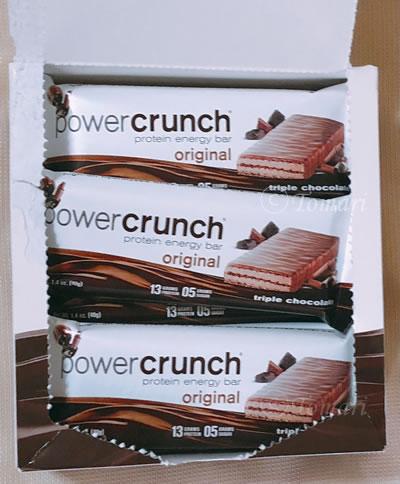 BNRG パワークランチ プロテインエネルギーバーオリジナルトリプルチョコレート味のレビュー!【iHerb】