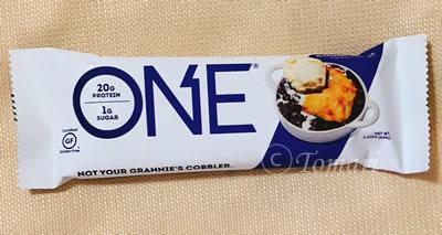 One Brands ONE(ワン)バー ブルーベリーコブラーのレビュー!【iHerb】