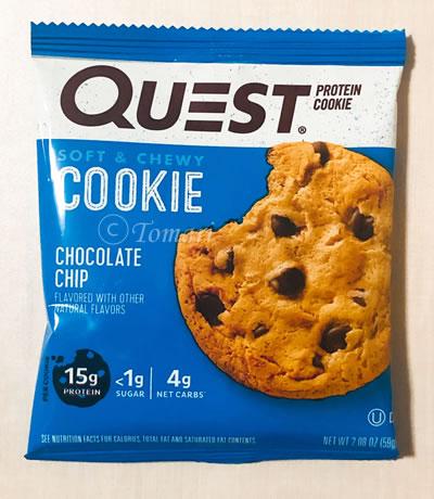 Quest Nutrition プロテインクッキーチョコレートチップ味のレビュー