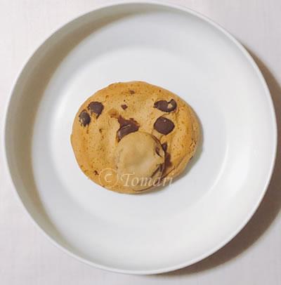 Quest Nutrition プロテインクッキーチョコレートチップ味の比較